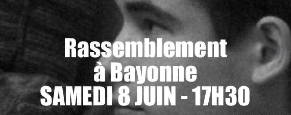 Rassemblement en l'hommage de Clément Méric