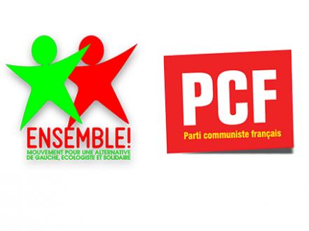 Face à la droite et à l'extrême droite, en campagne avec Jean-Luc Mélenchon (Déclaration Ensemble! et PCF)