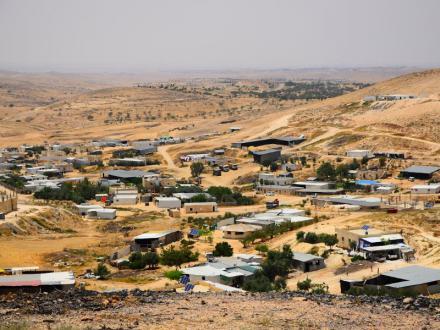 Destruction d'Umm Al-Hiran (Israël) :